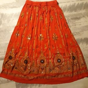 Highness NYC Red Skirt